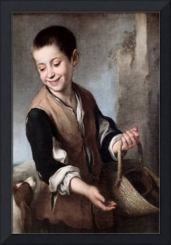Murillo 1661 - Boy with a dog - PD Image