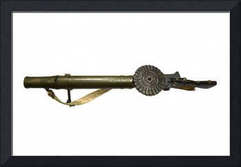The Lewis Automatic Machine Gun from the World War