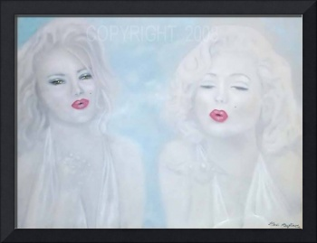 ~Blowing Kisses~in memory of Anna Nicole/Marilyn