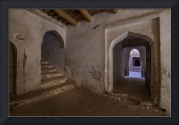 Two Doors in Ancient Casbah, Ait Youl, Morocco