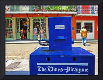 New Orleans Times-Picayune Box, French Quarter