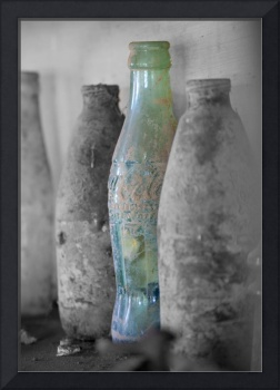 Coke Bottle Selective Color