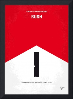 No228 My Rush minimal movie poster
