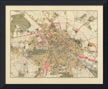 Map of Berlin 1890