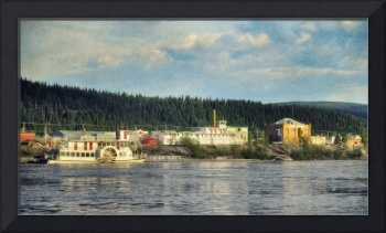 The S.S. Keno and the Klondike Spirit with the old