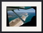 Chatham Outer Beach View from Plane by Christopher Seufert