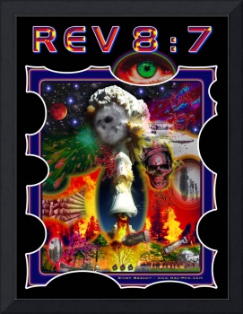 Revelation Chapter 8 Verse 7 - Hailstones & Fire