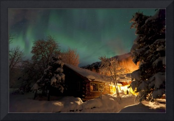 Aurora Borealis Over The Eagle River Nature Center