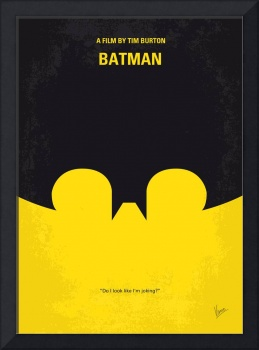 No008 My Batman minimal movie poster