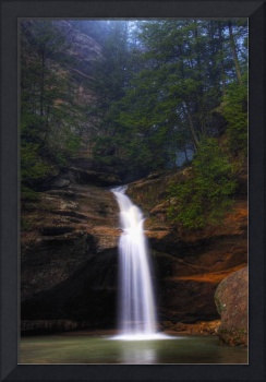 Evening at Lower Falls in Hocking Hills Ohio 2