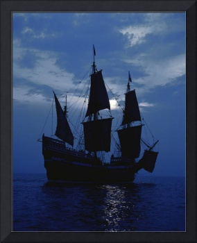 Replica of Mayflower II