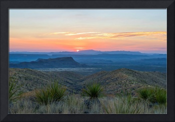 Sunset Over Big Bend2