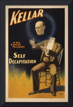 Kellar Self Decapitation