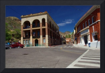 Old Bisbee Post Office and Main Street