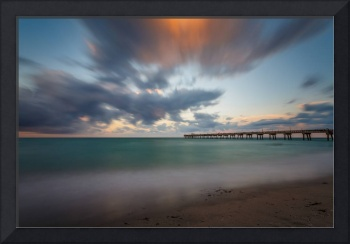 Dania Beach Pier at Sunset III
