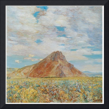 Childe Hassam's Sand Springs Butte
