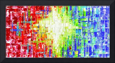Abstract Multicolored art