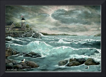Lillian's Lighthouse by Ave Hurley
