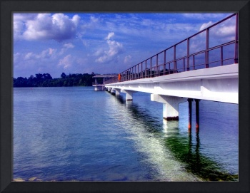 Water blue Seletar