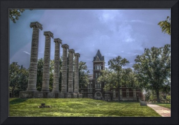 Engineering Building and Columns HDR