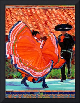 Dancers in Old Town by Rd Riccoboni