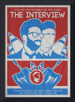 THE MINIMALIST MOVIE POSTER- THE INTERVIEW 2