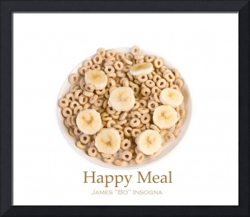 Happy Meal Fine Art Food Poster Print
