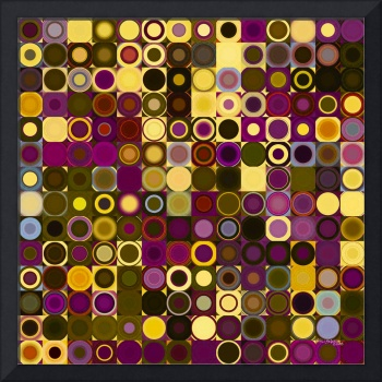 Circles and Squares 27. Modern Abstract Fine Art