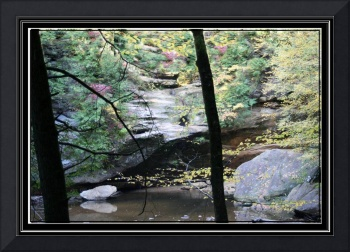 Ohio  Hocking hills fall scene