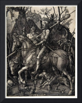Albrecht Dürer Knight, Death and the Devil