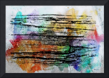 2j Abstract Expressionism Digital Painting