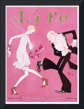 Life Magazine Cover Flapper 1926