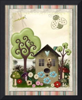 Bonnie Memories Vintage Whimsical Mixed Media