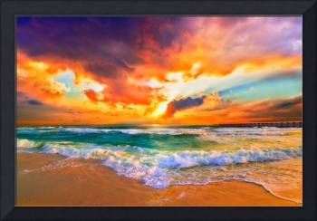 landscape photography red sunset landscape prints