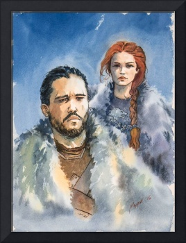 Jon and Sansa