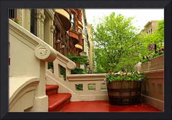 Porch in Upper West Side, Manhattan, NY