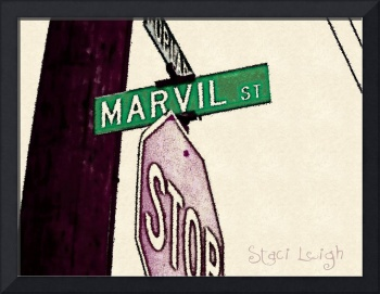 Childhood Street Sign