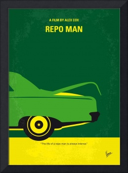 No478 My Repo Man minimal movie poster