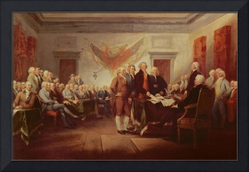 Signing the Declaration of Independence, 4th July