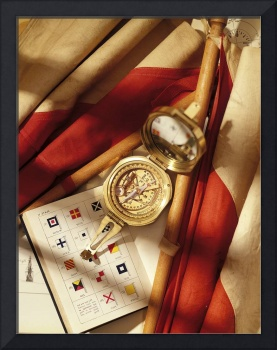 compas naval signal flags and flag signal book