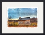 Joseph Smith Log Home by D. Brent Walton