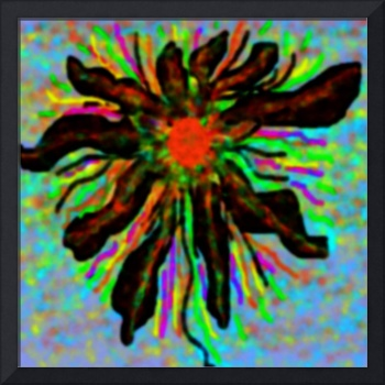 Brasin Flower Abstract Digital Art By Patricia A.