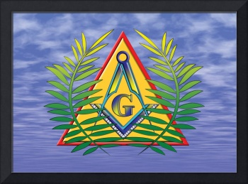 Masonic Acacia and Pyramid