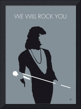 No027 MY QUEEN Minimal Music poster