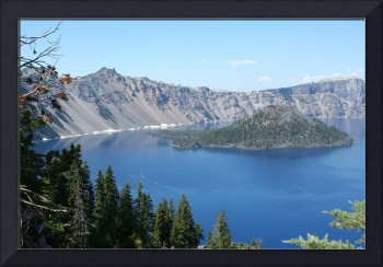 View of Crater Lake from the Southern Rim