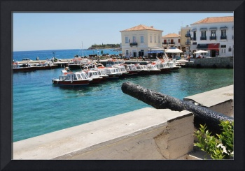 SPETSES: SEA PORT DAPIA