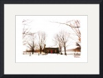 Peter Whitmer Farm in Winter by D. Brent Walton