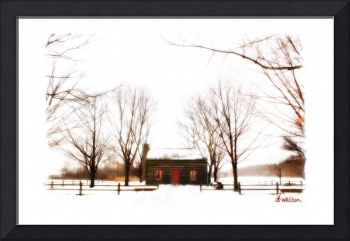 Peter Whitmer Farm in Winter