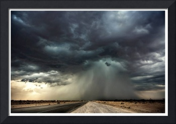 MOJAVE SUPERCELL PRINT BORDER