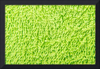 Green towel texture